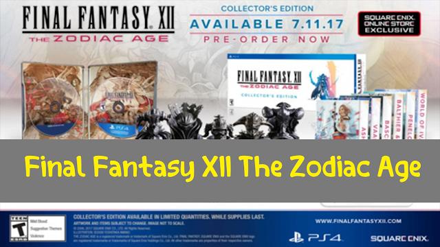 لعبة Final Fantasy XII The Zodiac Age طبعة محدودة بثمن 200 دولار