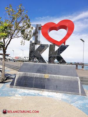 Tugu I Love KK Sabah