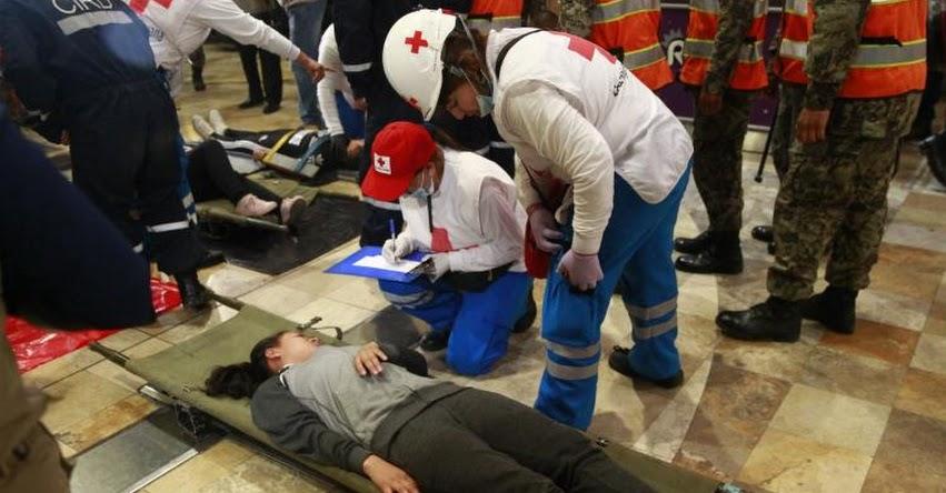 Ensayo por simulacro de sismo se concentrará en centros comerciales de Arequipa, informó la Oficina Regional de Defensa Nacional y Defensa Civil
