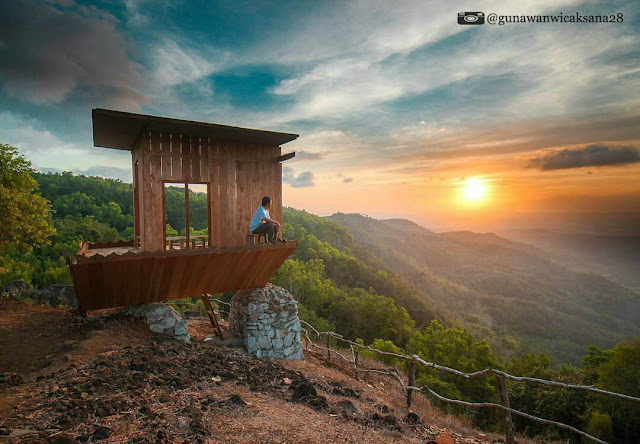 rumah terbaik di bukit lintang sewu jogja