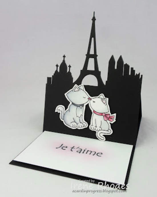 Je t'aime by Dandi93 features Newton's Sweetheart by Newton's Nook Designs; #newtonsnook