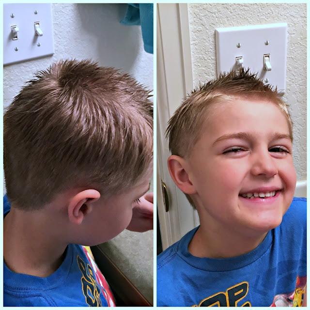 Kids cutting their own hair, how to cut a boys hair