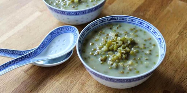 resep kolak kacang hijau