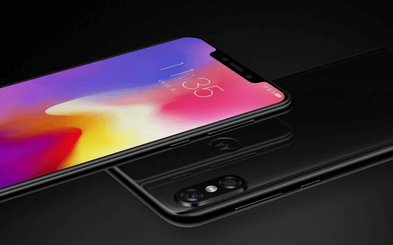 Notch on top and dual cam at the back