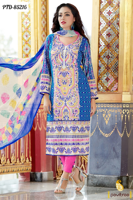 Buy Online Festival Special Party Wear Salwar Suits in Discount Price