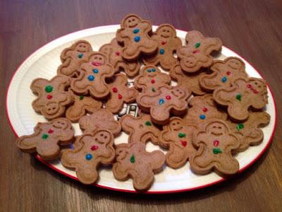 My happy kids: Gingerbreadmen cookies