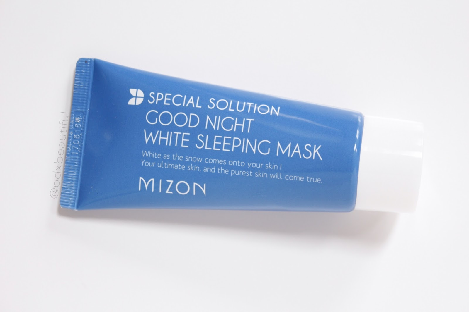 Dud Review 1: Mizon Good Night White Sleeping Mask | PDXBEAUTIFUL