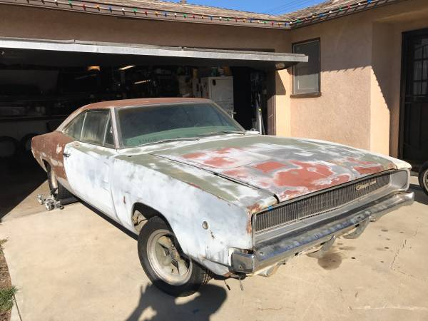 1968 Dodge Charger Project Buy American Muscle Car