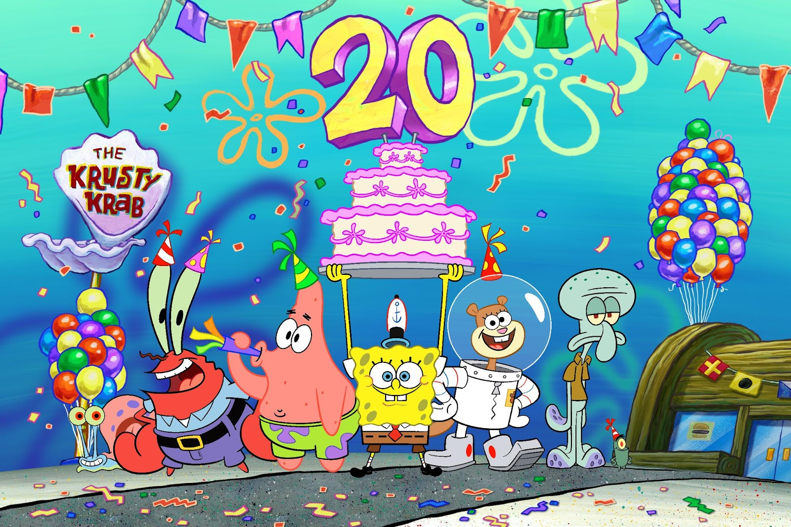 11 2019 nickelodeon is commemorating 20 years of spongebob squarepants with the best year ever a tribute to one of the most iconic tv series and
