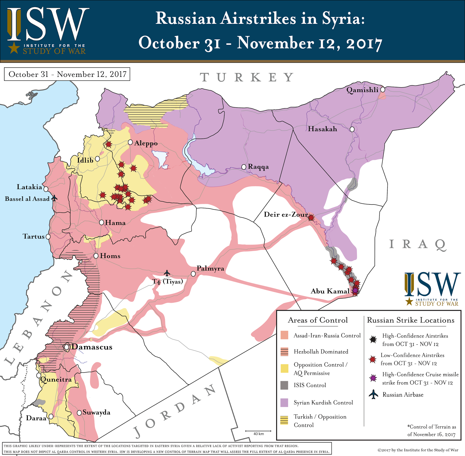 ISW Blog - Current us allies map