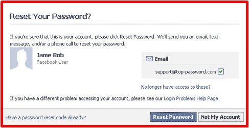 how to get a facebook password for free