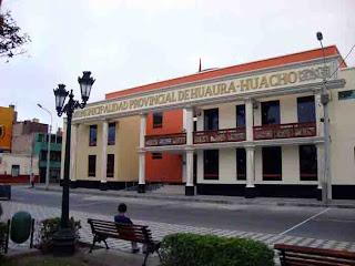 Resultado de imagen para municipalidad provincial de huaura
