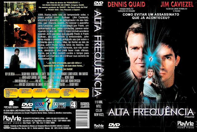Capa DVD Alta Freqüência