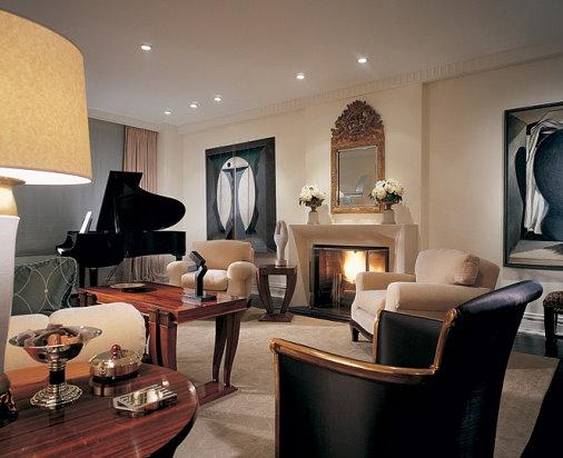 The auction addict crazy for art deco - Art deco living room ...
