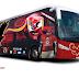 تصميمي لباص النادي الأهلي المصري الجديد