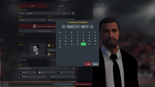 FM18 Manager Profile