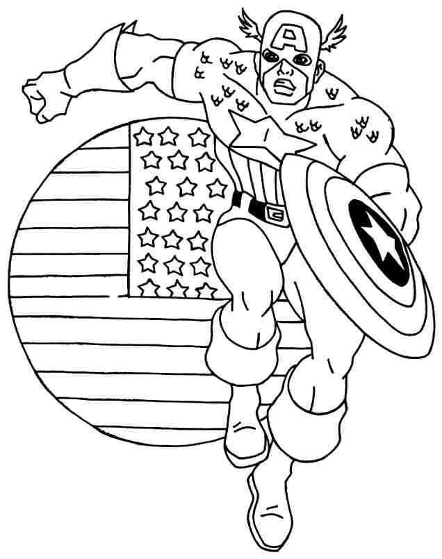 Kumpulan Gambar Super Hero Untuk Mewarnai