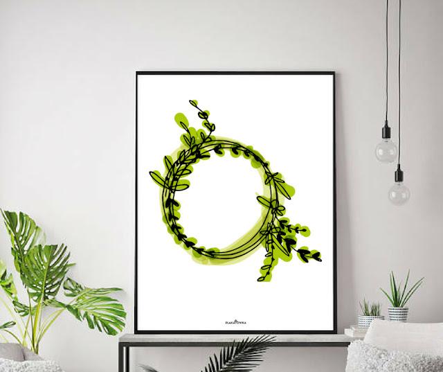 botaniczne plakaty do pobrania
