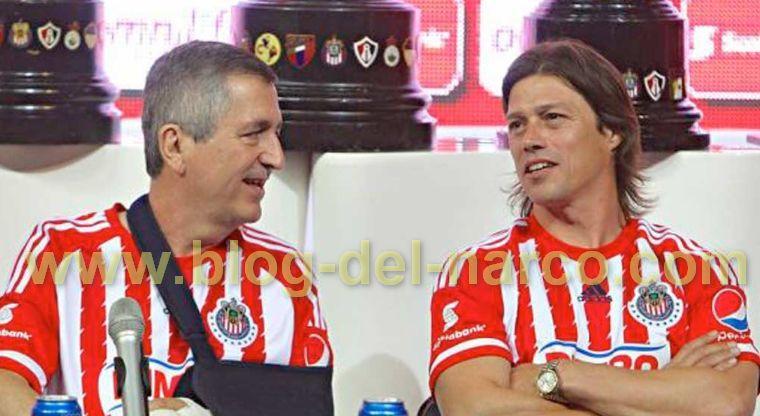 Jorge Vergara y Matías Almeyda llegaron a Colima con Escoltas armados hasta los dientes, por eso los confundieron con Sicarios