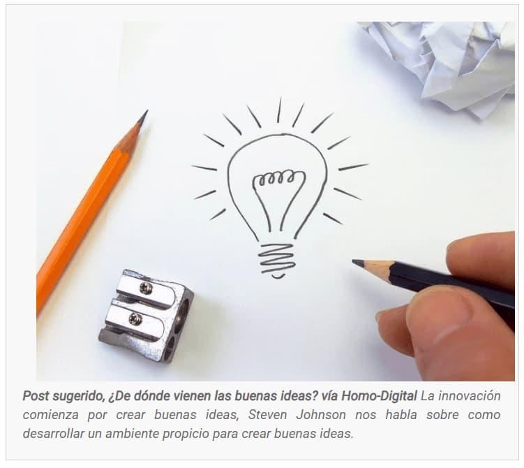 Cómo crear buenas ideas