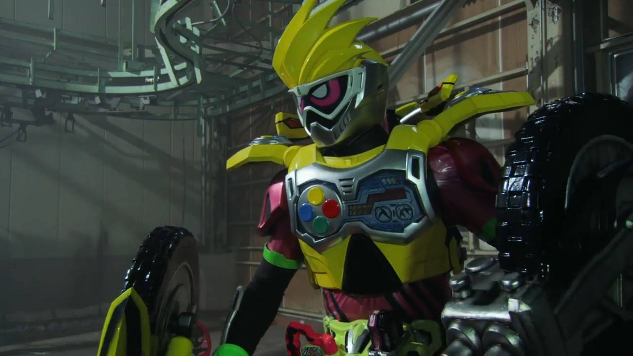 Kamen Rider Ex Aid Urazawa Lazer Dvd Pic Revealed Okuyama Carbing Dash Foot Rest The Comes With Bakusou Bike Gashat Proto And Normal Design Sticker Stay Tune For More Updates