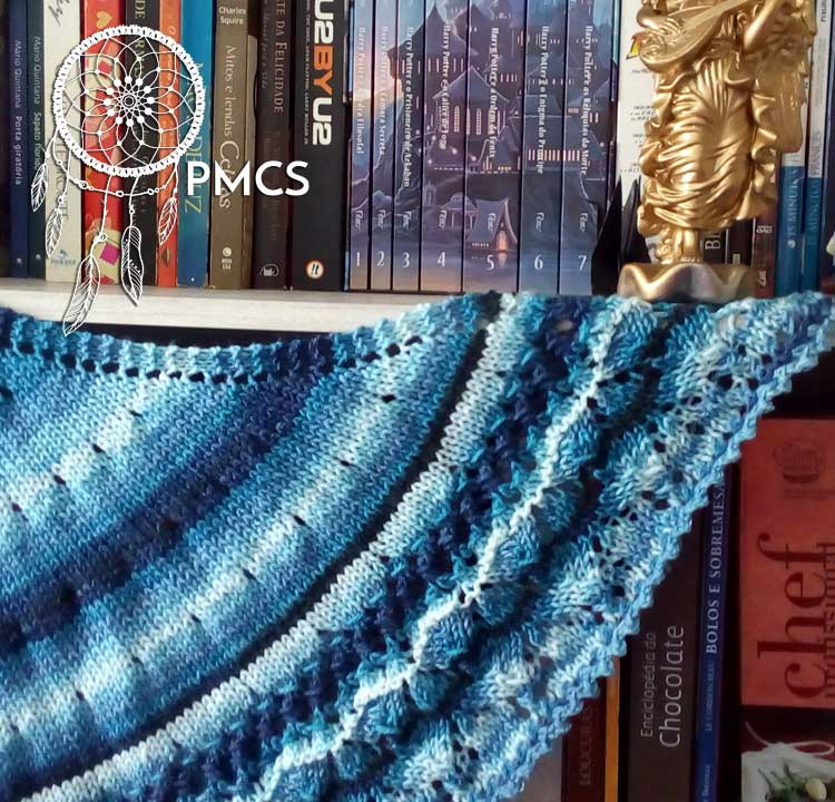 Xale Kindness Kindness Shawl made by Paula Mello PMCS