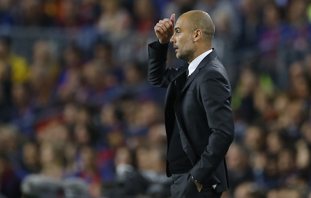 Pep Guardiola leaves Sergio Aguero on the bench in loss at Barcelona