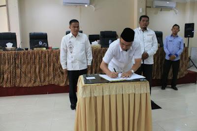 DPRD Kabupaten Agam Sepakati  APBD-P 2017