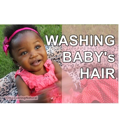 How to Wash Your Baby's Natural Hair