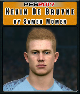 PES 2017 Faces Kevin de Bruyne by Sameh Momen