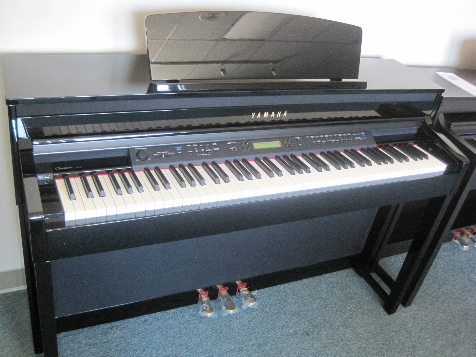 Az piano reviews review yamaha clp430 clp440 clp470 for Yamaha clavinova price list
