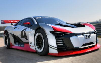 Audi E Tron Vision Gran Turismo 2018 - Fond d'Écran en Full HD 1080p