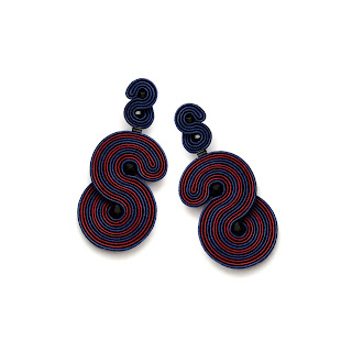 80'-style-earrings-navy-burgundy