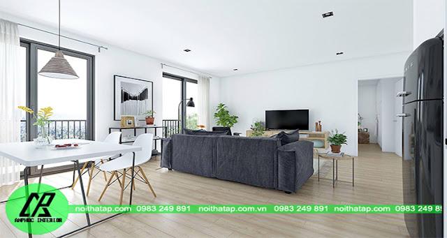 Công ty Thiết kế nội thất chung cư giá rẻ nhất Hà Nội