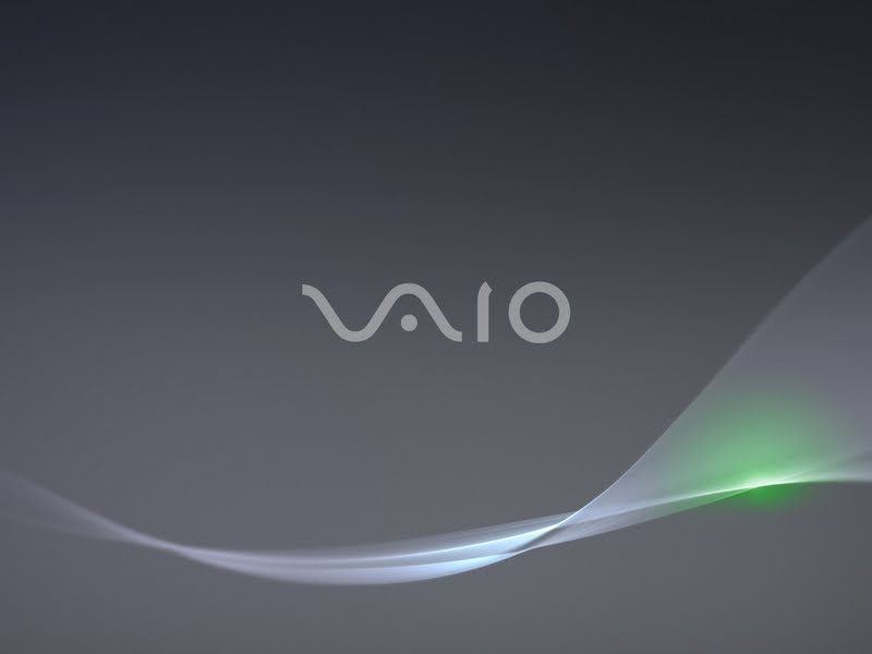 Free Desktop Backgrounds And Wallpapers: Sony Vaio Black