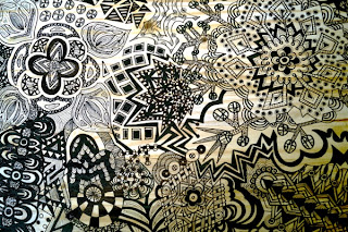 Finished! Sharpie Art Table