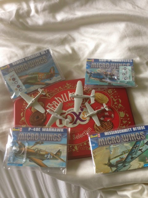Geordie's Big Battles: More Revell 1/144 Aircraft (Pacific