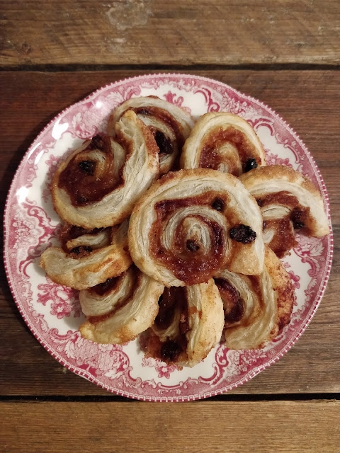 Cinnamon Catherine Wheels recipe