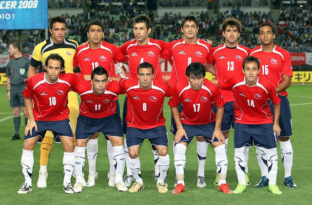 Formación de Chile ante Japón, Kirin Cup 2009, 27 de mayo