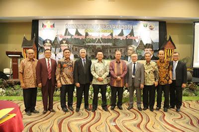 Gubernur Ridho Berharap Forum Bisnis Minangkabau Begawei Berdampak Positif bagi Daerah