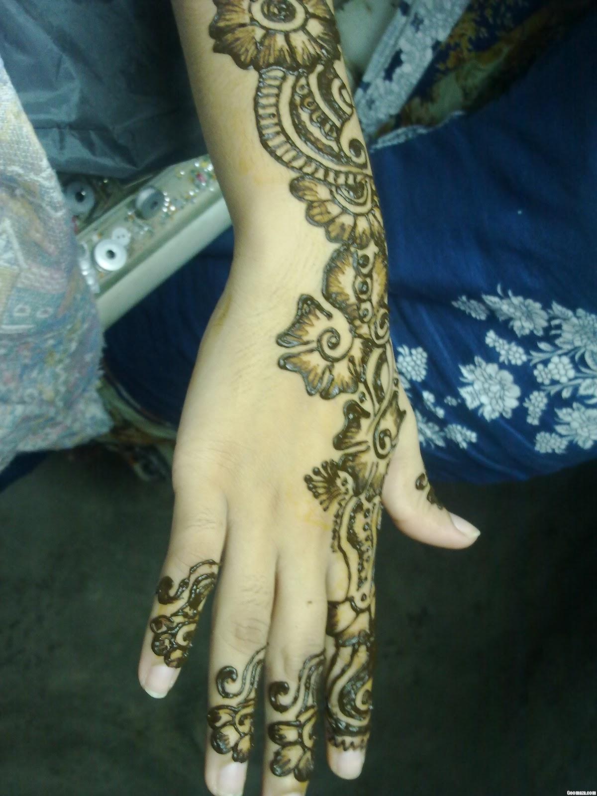 Modern Henna Designs: Modern Mehndi Designs 2012