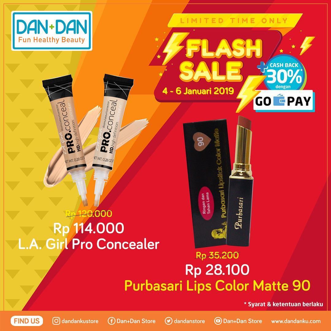 #DanDan - Promo Katalog Flash Sale Periode 04 - 06 Januari 2019
