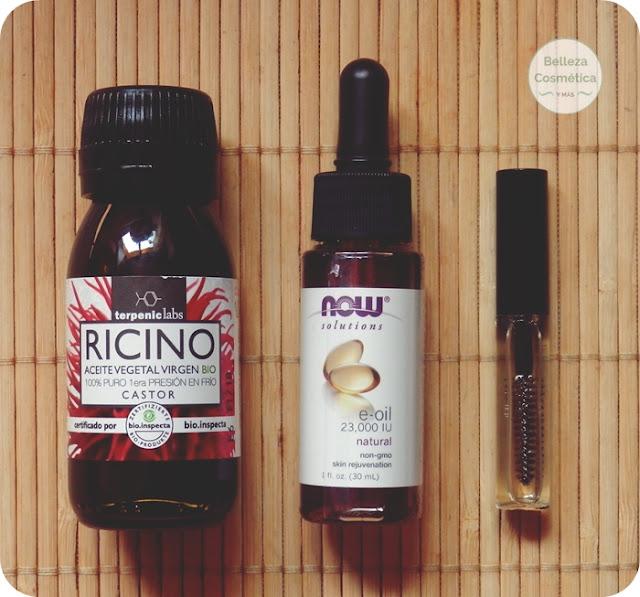 aceite ricino alargar pestañas
