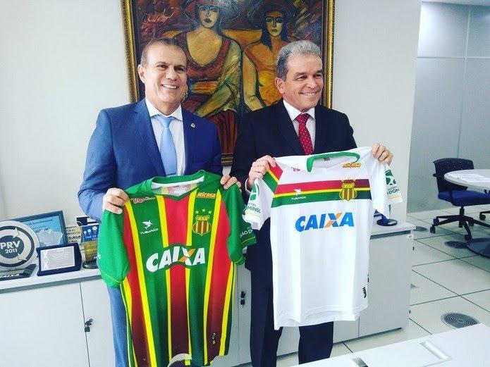 Caixa patrocinadora Sampaio Corrêa 2018