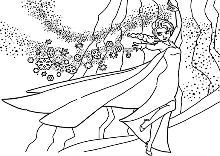 Malvorlagen Eiskonigin Mandala Coloring And Malvorlagan