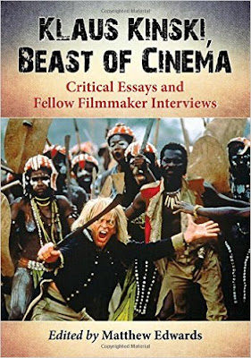 klaus kinski beast of cinema edited by matthew edwards
