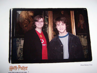 Make-A-Wish Foundation: Kate meets Daniel Radcliffe (Goblet of Fire set)