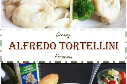 ★★★★★ 2194 Reviews: My BEST #Recipes >> Creamy Alfredo #Tortellini Parmesan