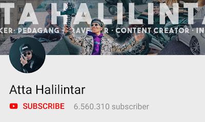 Youtuber Indonesia - Atta Halilintar