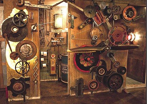 Modern House Plans: Steampunk Decorating Ideas